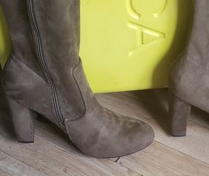 Shoes - Olive knee high boots